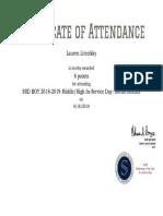 lauren litcofsky 8 16 2018 in-service day certificate