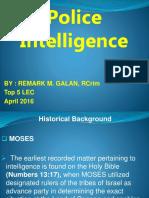 Police Intelligence (Lea 24)
