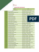 Inscrições Deferidas 2019-2 (Técnico Subsequente - Fortaleza e Sobral)
