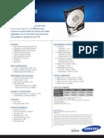Samsung Spinpoint m8 Datasheet
