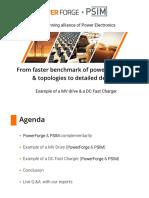 Powerforge Psim Benchmark