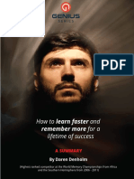 3377952 1550315853896How to Learn Faster and Remember More Summary