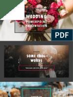 Wedding Even Management PPT-dark