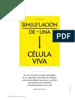 Simulacion de Una Celula Viva