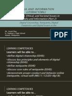 mediaandinformationliteracymil-digitalcitizenshipnetiquettedigitalfootprintsanddigitalissues-161009140121