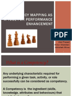 Competency Mapping as a ToOL for Performance Enhancement(Grp 1)