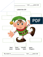 Label the Elf Oneonone Activities Tbl Task Based Learning Activi 112491
