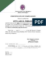 IBP Certificate of Compliance_Lex Tabilog