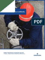 Brochure Bettis Eho Electro Hydraulic Operator Standard Smart en 86758