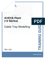 TM-1102 AVEVA Plant (12 Series) Cable Tray Modelling Rev 3.0