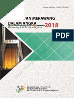 Kecamatan Merawang Dalam Angka 2018 Data BPS