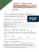 qcm 2471 fonctions ln et exp corr