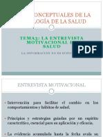 Bases Conceptuales de La Psicología de La Salud 3