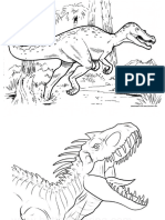 Baryonyx Coloring Pages 16