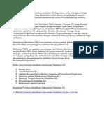 Formulir Identifikasi Kebutuhan Pelatihan K3 Digunakan Untuk Mengidentifikasi Pelatihan