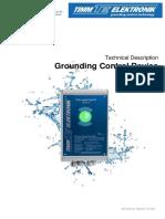 3.42 Grounding Control Device EKX-4 (Earthing Monitor) - Technical Description