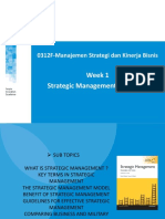Strategic Management Essentials
