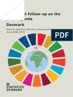 Statistical Follow Up on the 2030 Agenda Denmark