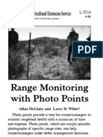 Range Monitoring With Photo Points New