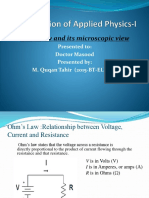 Physics-1 Ohms Law