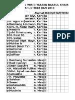 daftar iuran
