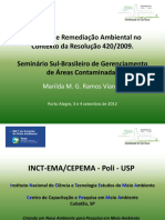 Avaliação e Remediação Ambiental