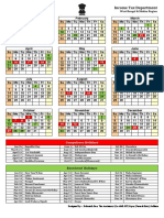 2019 ITD Calendar