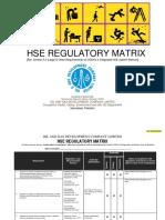 OGDCL's Regulatory Matrix (Rev#04)