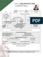 Pharmacovigilance Officer
