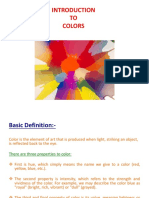 PPT on Colors