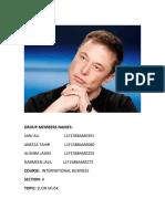 Elon Musk Report