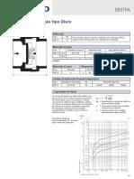Válvulas de Retenção MB 14 Tipo Disco Conexão Roscada PN 16