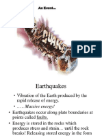 PPt NOTES Earthquakes