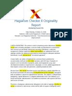 Plagiarism - Report-9% CAPITAL