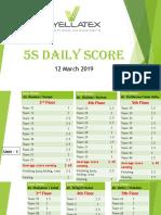 5S Score_Garments_12 March 2919