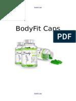 BodyFit Caps