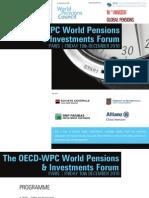 OECD World Pensions & Investments Forum (Paris)   Dec. 10, 2010   INVITATION