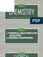 Applied Chemistry [Naming Compounds, ...]
