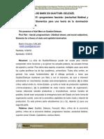 Martín Chicolino - Presencia de Marx en Guattari-Deleuze