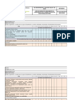 Lista de chequeo auditoria calidad
