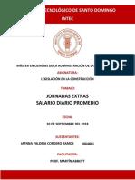 Legislacion Asignacion #4. Jatnna Cordero 1064861