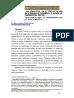 Martín Chicolino - «El Cuerpo se ha convertido en el centro de una lucha». La lógica armónica cromática y lógica de poder en la Farbenlehre de Goethe