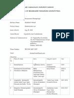 biodata of Parasurama Ganapadigal