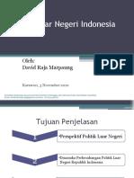 Politik Luar Negeri Indonesia (Indonesia Foreign Politics)