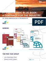 FIDIC Blue Book 2nd Edition - IADC Workshop