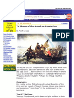 TV Shows of the American Revolution