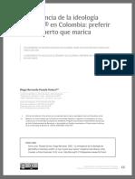 La emergencia de la ideología de Género en Colombia