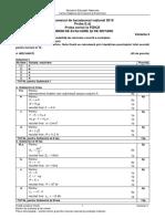 Barem Fizică BAC 2019 -Tehnologic