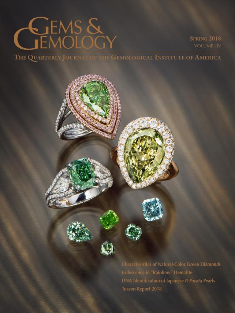 Pocket Diffraction Grating Spectroscope Pour Gemstone Rapide Gemological Identification Et Utilisation GIA