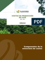 Informe Final Costos café Colombia 2017